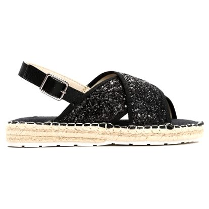 Dámské černé sandále Goldie 6134