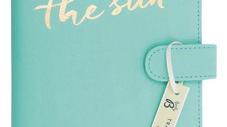 Světle modrá cestovní peněženka BusyB New Fashion