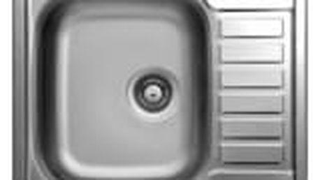 Sinks ATLAS 650 V 0,8mm texturovaný
