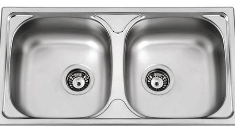 Sinks OKIO 780 DUO V 0,5mm matný