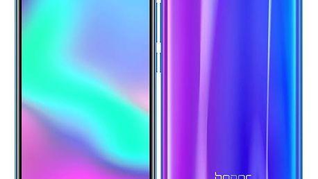 Mobilní telefon Honor 10 64 GB (51092NQL ) modrý SIM karta T-Mobile 200Kč Twist Online Internet v hodnotě 200 Kč + DOPRAVA ZDARMA