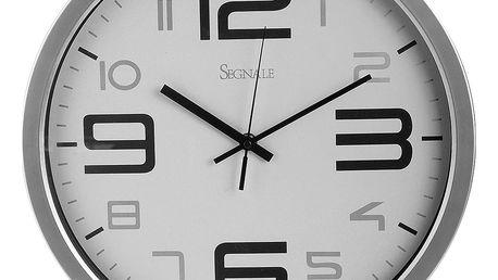 Nástěnné hodiny SEGNALE - kulaté, Ø 35 cm Emako