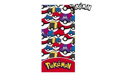 Plážová deka Pokemon 634