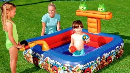 Inflatable pool Angry Birds 9555