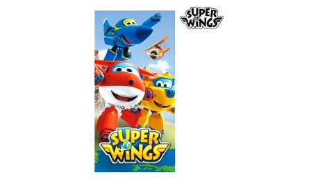 Plážová Osuška Super Wings Modrá