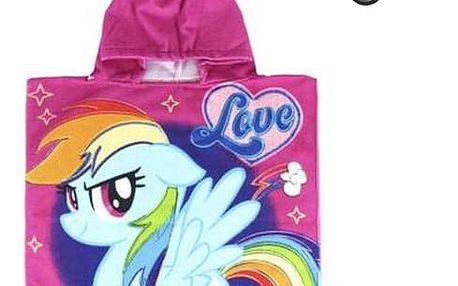 Poncho-Ručník s kapucí My Little Pony 57242