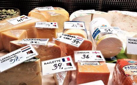 Otevřené vouchery do sýrárny Skleněná Louka