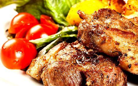 Švejk mix gril nebo koryto plné masových dobrot 2,5 kg masíčka pro 4 až 8 lidí v restauraci Švejk.