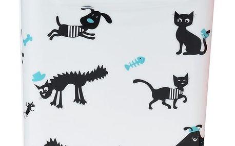 Úložný box na zvířecí krmivo Cane, bílá