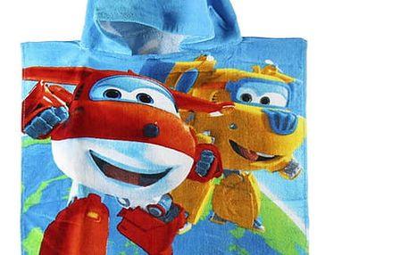 Plážové Pončo Super Wings Modré