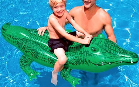 Nafukovací Krokodýl Intex