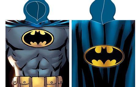 BedTex Dětské pončo Batman, 50 x 100 cm