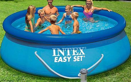 Kulatý Bazén s Filtrací Intex