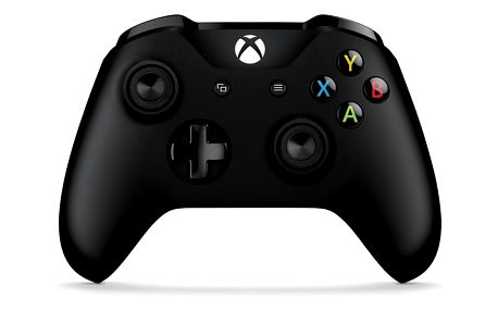 Gamepad Microsoft Xbox One S Wireless černý (6CL-00002)