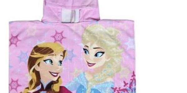 Poncho-Ručník s kapucí Frozen 57204