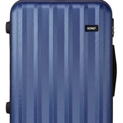 Dámský velký námořnicky modrý kufr Trip 1773