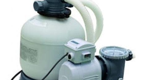Písková filtrace Intex Krystal Clear 8 m3/h, 550 W