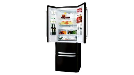 Chladnička s mrazničkou Hotpoint-Ariston Quadrio E4D AAA B C černá