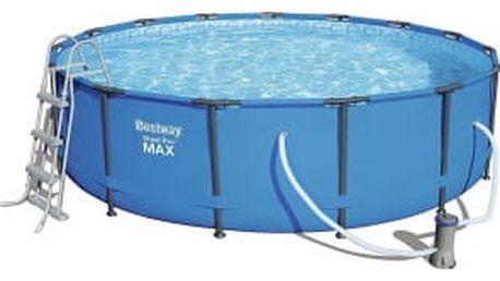 Bazén Bestway Steel Pro MAX 4,57 x 1,07 m kompletset s filtrací 56488