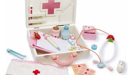 Dřevěná hrací sada pro malé doktory Legler Isabel