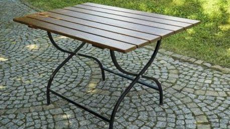 Tradgard WEEKEND FSC 6510 Dřevěný skládací zahradní stůl