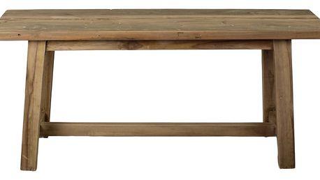 Lavice z teakového dřeva HSM collection Rustical, délka 100 cm