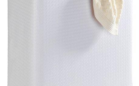 Bílý koš na prádlo Wenko Wanda, 65 l