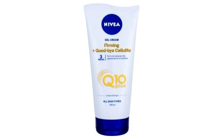 Nivea Q10 Energy+ Firming Anti Cellulite Gel 200 ml celulitida a strie pro ženy