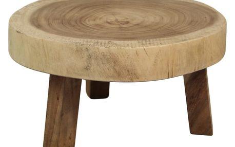 Konferenční stolek z mungur dřeva HSM collection Vital, 40 x 23 cm
