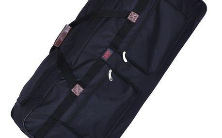 Černá cestovní taška na kolečkách Hero Morvan
