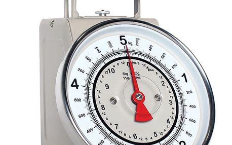 Béžová kuchyňská váha Sabichi Retro