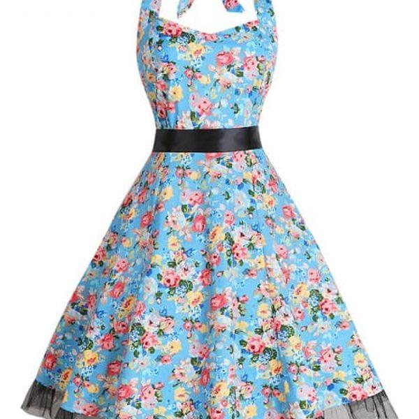 Letní retro šaty - 25 variant