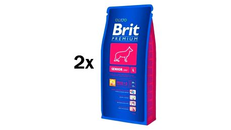 Brit Premium Dog Senior L 2 x 15 kg