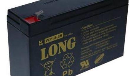 Avacom Long 6V 12Ah (PBLO-6V012-F1A) černá