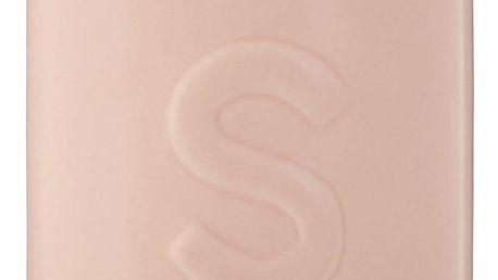 Růžová dóza na cukr s bambusovým víkem Premier Housewares Fenwick