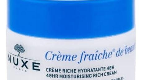 NUXE Creme Fraiche de Beauté 48HR Moisturising Rich Cream 50 ml denní pleťový krém pro ženy