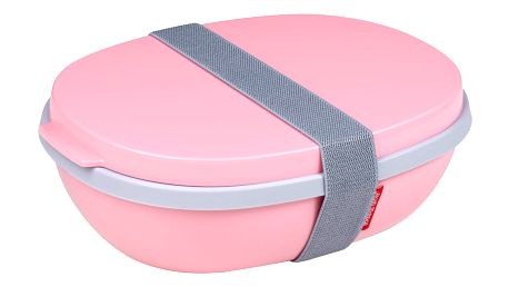 Růžový obědový box Rosti Mepal Ellipse