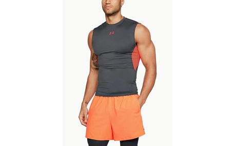 Kompresní tílko Under Armour Heatgear Sl Šedá
