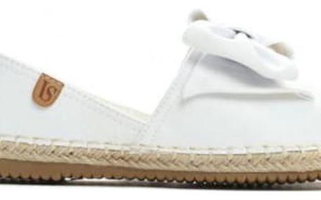 Dámské bílé espadrilky Millie 8420