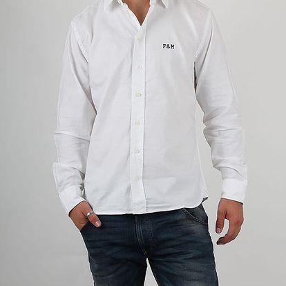 Košile Franklin & Marshall MARTINS SHIRT MAN Bílá