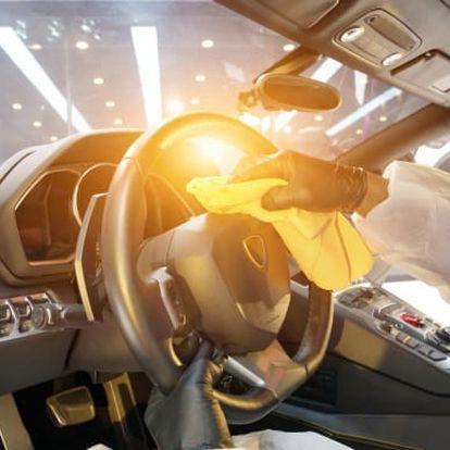 15min. ozonové čištění interiéru vozidla v Ostravě