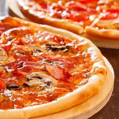 2 nebo 4 pizzy ⌀ 40 cm: výběr z 20 druhů