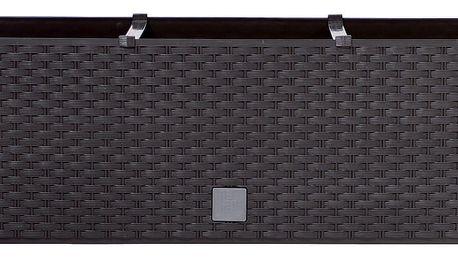 Prosperplast Truhlík RATO CASE hnědý 51,4x19x18,6cm