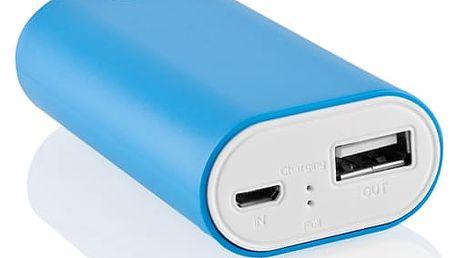 Powerbank GoGEN 4000mAh (GOGPB40001BLW) bílá/modrá