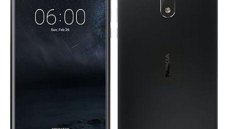 Mobilní telefon Nokia 6 Dual SIM černý (11PLEB01A11)