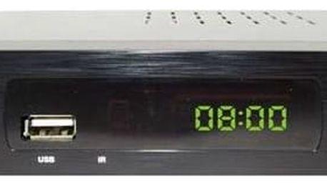 DI-WAY T2-ONE HEVC H.265 DVB-T/T2, CRA T2 Ověřeno (472232) černý