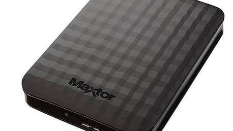 Maxtor M3 Portable 1TB (STSHX-M101TCBM) černý