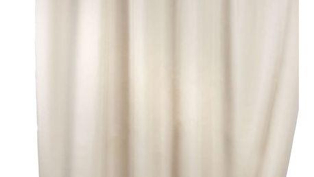 Sprchový závěs, textilní, barva béžová, 180x200 cm, WENKO