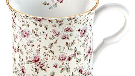 Bílý porcelánový hrnek Creative Tops Floral