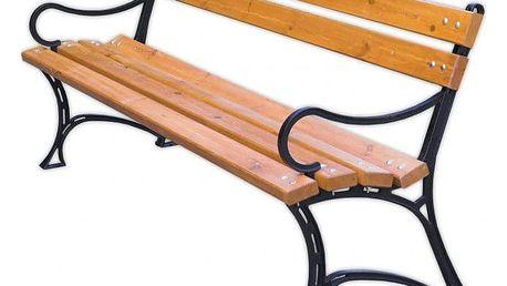 Tradgard 2748 Zahradní parková lavice s područkami FSC